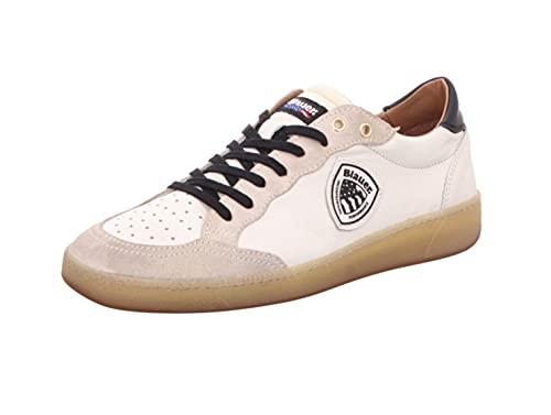 Blauer Sneaker Uomo Murray04 White Black (Numeric_43)