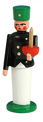 Rudolphs Schatzkiste Miniaturfigur Bergmann bunt zum Stellen Höhe ca. 5cm NEU Holzfigur Weihnachtsfigur Weihnachten Schneeball Figur Seiffen Erzgebirge Holz Winterdeko