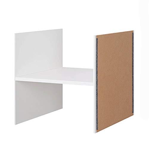 Ikea Kallax Bandeja con 1 estante, color blanco, 33 x 33 cm.