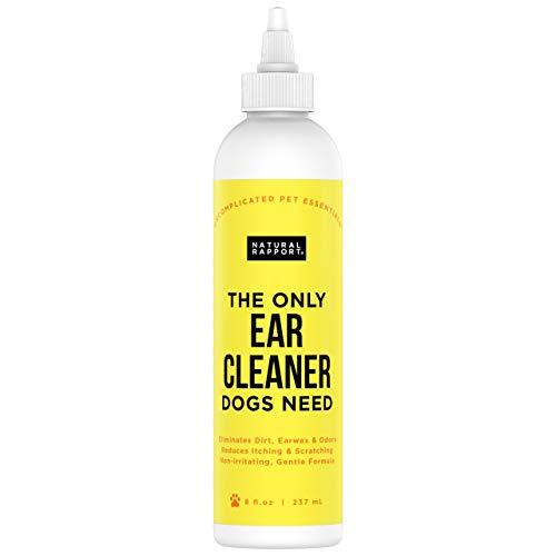 Natural Rapport Limpiador de Oídos para Perros – Solución Limpia Oídos...