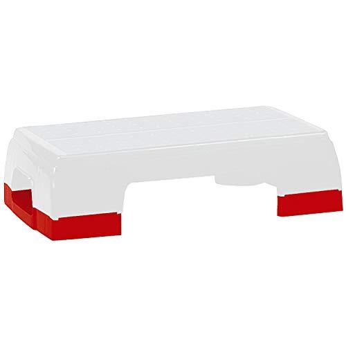 Sport-Thieme Erhöhungen Aerobic-Step Workout   Stepper Erhöhung   Höhenverstellung 5 cm   Material Kunststoff   Max. Belastbarkeit 110 kg   Markenqualität