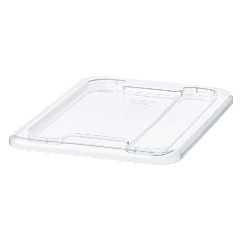 SAMLA tapa para caja 5 l 20x28 cm transparente