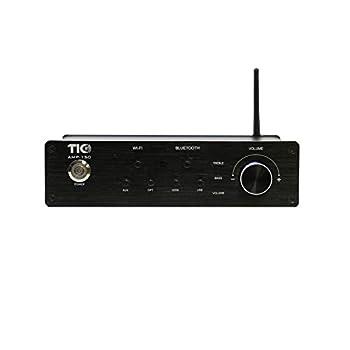 AMP150 WiFi AirPlay2 &Bluetooth5.0 2100W Multiroom Amplifier w/Bass &Treble Control