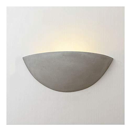 Lámpara de pared creativa de cemento con Futaba y Pocket, estilo vintage industrial en claro de la pared de la lámpara de noche en Cafe Bar Navata Dormitorio Aparato de pared
