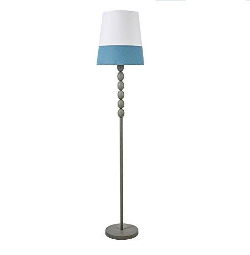 Chambre chevet lampadaire salon créatif vertical bureau lampadaire (Couleur : Bleu+Blanc)