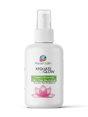 Planet Eden LARGE Organic Botanical Skin Chemical Peel Neutralizer - Neutralizes Salicylic, Lactic, Glycolic and Jessner Peels
