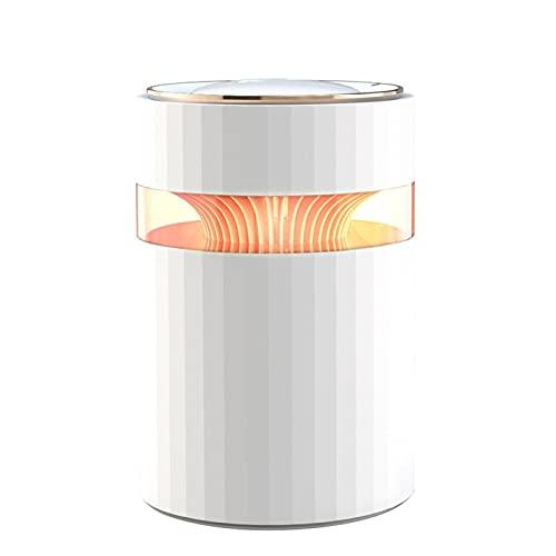 auspilybiber 900 ml humidificador de aire difusor ultrasónico doble spray USB Cool Mist Maker Fogger con 7 colores LED noche luz para el hogar oficina blanco
