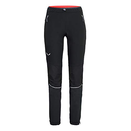 Salewa 00-0000027198_910 Pantalon Femme, Black Out, FR : S (Taille Fabricant : 42/36)