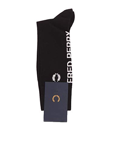 Fred Perry FPC1106 ropa interior Calcetines Harren Negro I