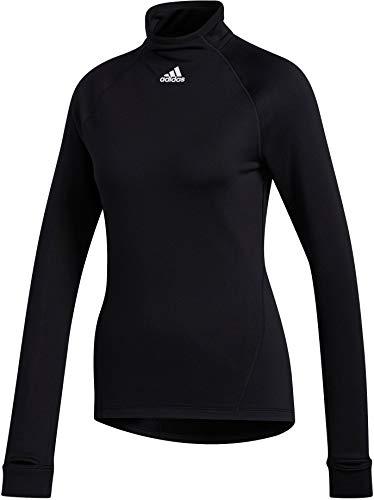 adidas Damen T-Shirts T Mn Ls C.Rdy T-Shirts, Black, XS, FT7020