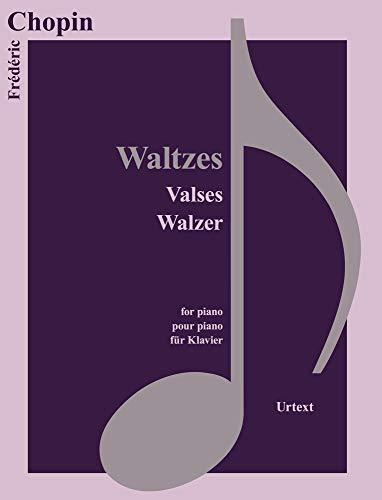 Waltzes /Valses / Walzer, für Klavier (Classical Sheet Music)