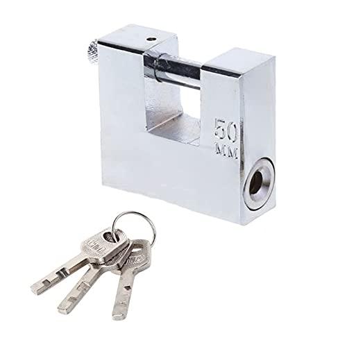 Candados con llave, Antirrobo, manipulador, impermeable, nunca óxido, por lo que la seguridad de la seguridad, el candado, las cerraduras, el átomo de la llave, el cilindro de ralentí de la cuchilla d