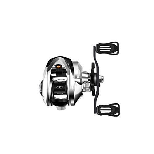 Nueva rueda giratoria de metal completo línea de pesca rueda de una sola rueda de la mano derecha...