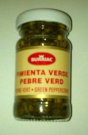 Pimienta verde de salmuro tarro de 50 g – Lote de 2 unidades.