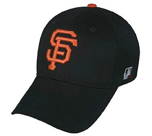 Outdoor Cap San Francisco Adult Giants Adjustable Hat Officially Licensed Major League Replica Baseball Ball Cap Black