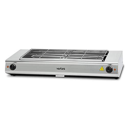 vertes elektrischer BBQ-Grill 4800 Watt (230 V, Temperatur stufenlos regulierbar bis 500°, 765 x 235 mm Grillfläche, 1 Grillrost)
