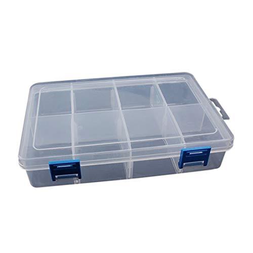 HYJ-BOX, 1pc Componentes ajustables Compartimiento Almacenamiento Organizador de herramientas portátil desmontable Caja de herramientas electrónicos Tornillo de taladro Terring Toolkit ( Color : C )