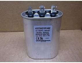 HARTLAND CONTROLS HCKY200D150V440Z 20+15 MFD X 440 VAC OVAL DUAL RUN CAPACITOR