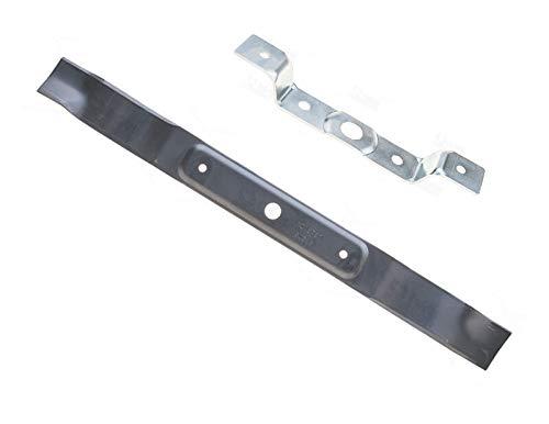 62 CM Ersatzmesser Mulchmesser + Halter (Adapter) für OBI Variolux VAL 63 AM AME