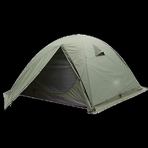 2P Carpa para mochileros Camping al Aire Libre Carpa de 4 Estaciones con Falda de Nieve Doble Capa Impermeable Senderismo Trekking Tent-Army 4 Seasons 3p, China