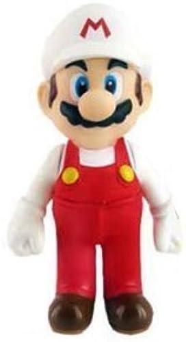 los últimos modelos Super Mario Mario Mario 5 inch Fire Mario Action Figure by Super Mario Brojohers  al precio mas bajo