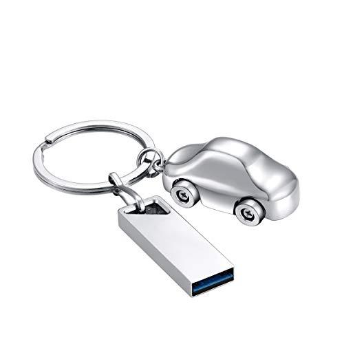 FeliSun Alta Velocità Unità flash USB 3.0 Pendrive Thumb Drive Chiavetta USB3.0 Archiviazione esterna con portachiavi Ornamento per auto per PC, laptop, Smart TV, audio per auto (16GB)