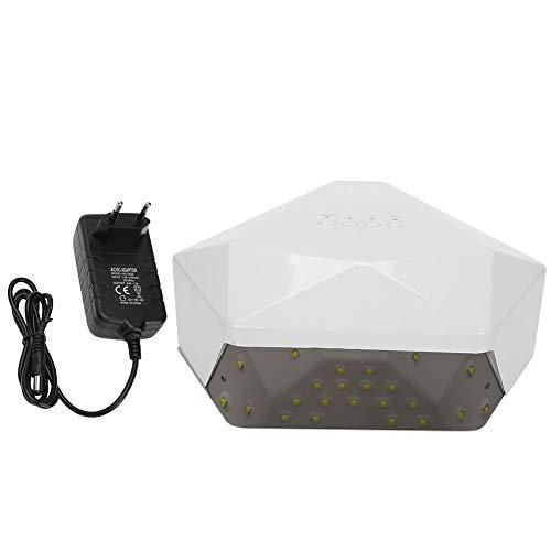 Secador de Uñas, Luz de Curado de Gel para Uñas UV LED, Máquina de Curado por Luz con Secador de Esmalte de Uñas Inteligente(UE)