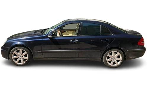 Solarplexius Auto-Sonnenschutz Scheiben-Tönung passgenau für Mercedes E- Klasse Limo W211 Bj. 02-09 Keine Folie Komplettsatz
