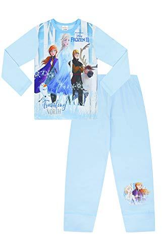 Disney Frozen 2 Pijama 3 4 5 6 7 8 9 10 años Olaf Anna Elsa Hans Sven w19 (6-7 años)