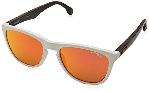 Carrera 5042/S Uz Gafas de sol, Gris (Whcrygrydots/Red Fl), 55 Unisex-Adulto