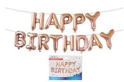 Find Discount Xucus 16 Inch 13 Pieces Foil Letter Balloons Happy Birthday Party Decoration Birthday ...