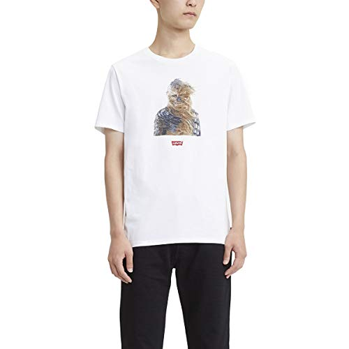 Levi's Star Wars X Levis. Graphic Tee Camiseta para Hombre, color Chewbacca White, G