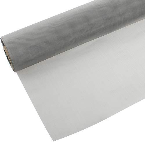 DXLing 30 x 100 cm Malla de Alambre Tejido de Acero Inoxidable 304 Malla Metálica Malla de Alambre Fina Filtración de Pantalla Filtración de Hoja de Filtro de Pantalla (Malla 120)