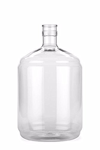 Vintage Shop FBA_Does Not Apply Plastic 3 Gallon Carboy, Clear