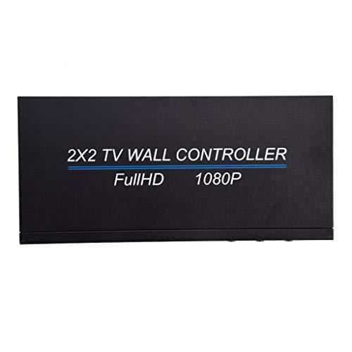 duquanxinquan HDMI Bild Mosaik Controller Mosaik Bildschirm 1x4 TV Wand 2x2 Bild Mosaik Prozessor 1080P 4K-Videowand HDMI-Prozessor IP-Netzwerk PoE HDTV 1080p-Controller-Spleißen