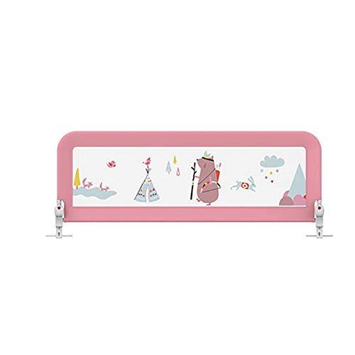 YZY Barrera Cama Abatible for niños pequeños - Protección Plegable BedGuard Protección...