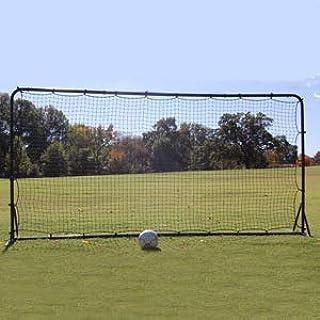Trigon Sports Soccer Rebounder Training Net, 6 x 12-Feet, Black