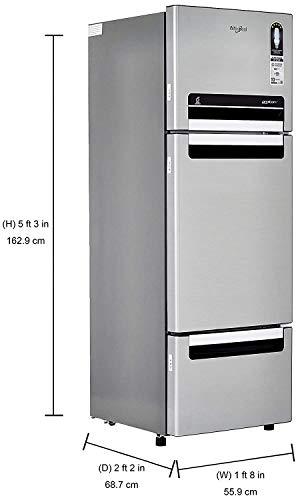 Whirlpool 240 L Frost Free Multi-Door Refrigerator (FP 263D PROTTON ROY, German Steel) 3