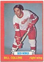 1973 Topps Regular (Hockey) card#158 Bill Collins of the Detroit Red Wings Grade Excellent