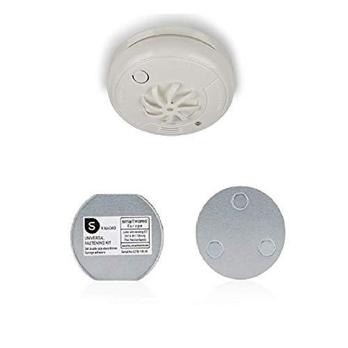 Smartwares RM127K Hitzemelder/Thermomelder/Wärmemelder für Bad und Küche + Magnet Befestigung Set...