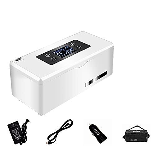 J+N Insulin kühlbox elektrisch Mini kühlbox Insulin kühltasche elektrisch kühlbox medikamente Insulin kühlbox USB Geeignet FüR Reisen/Interferon/Lagerung Von Arzneimitteln
