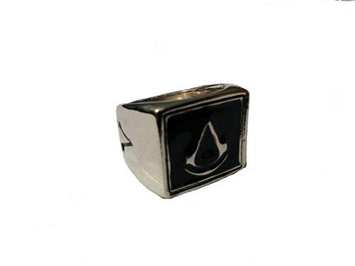 Assassin's Creed Ring - Brotherhood Revalation Black Flag I II III Silver