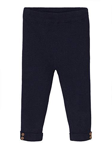 NAME IT Baby Jungen Strickhose NBMROXER Knit Pant, Größe:56, Farbe:Dark Sapphire