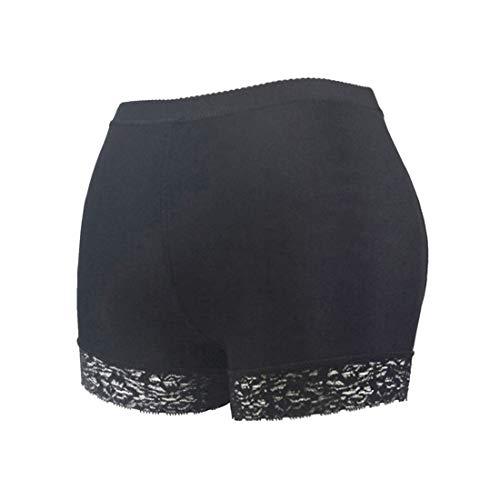 HengST Bragas Control Nalgas Push Up con Encaje para Mujer Relleno Bragas Fuerte con Almohadillas Levanta Glúteos para Mujer