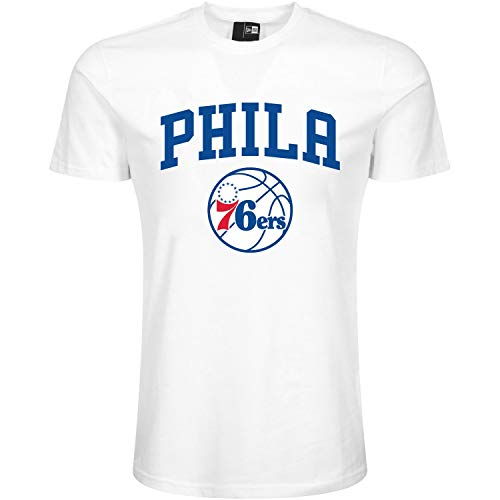 New Era Team Logo Phi76e Camiseta, Unisex Adulto, Blanco (Whi), L