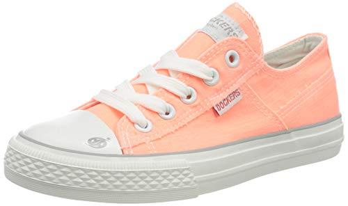 Dockers by Gerli Unisex-Kinder 44CF611-790930 Sneaker, Orange (Orange 930), 33 EU