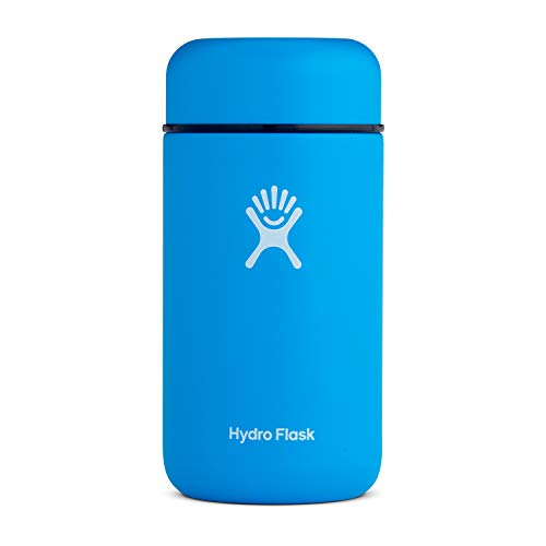 Hydro Flask Food Flask Thermos Jar - Stainless Steel & Vacuum Insulated - Leak Proof Cap - 18 oz, Pacific