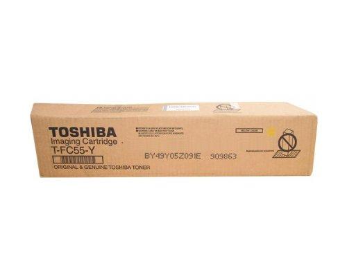 Toshiba TFC55Y tóner y Cartucho láser - Tóner para impresoras láser (Amarillo, Laser, e-Studio...