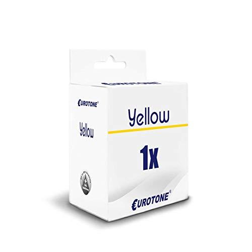 1x Eurotone Tintenpatrone für HP DesignJet T 120 520 24 36 Inch ersetzt 711 Yellow