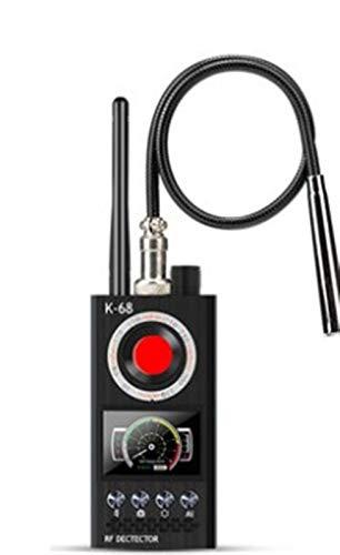 GPS Detector de escaneo de GPS inalámbrico de automóvil, detector de cámara de posicionamiento anti-Sneak, anti-monitoreo y espía Detectores de radar (Color : K68-Basic)